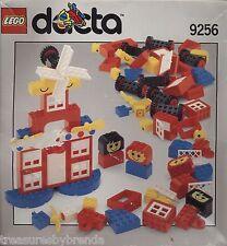 Lego Dacta Basic Building Blocks Set 9256 Windows Doors Wheels Vintage 1993