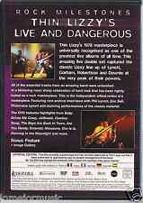 rare DVD PROMO ONLY 70's 80's THIN LIZZY stunning performances classic material