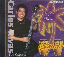 Carlos Rivas Y Su Orquesta No Fue Vano CD New Sealed