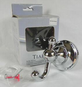"""Gatco """"Tiara"""" Robe Hook #4325, Chome Finish, Bath Bathroom Accessory, New NIB"""