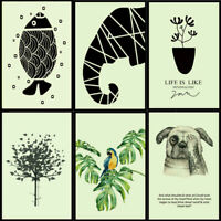 Animal Luminous Wall Sticker PVC Removable Decals Children Bedroom Home Decor AU