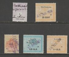 Netherlands revenue fiscal Cinderella stamps collection mix  ml439