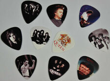 QUEEN FREDDIE MERCURY 10 GUITAR PICKS LOT SET NEW DOUBLE SIDED IMAGE FREE SHIP