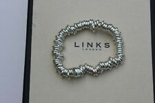 GENUINE LINKS OF LONDON STERLING SILVER SWEETIE NEW STYLE BRACELET SIZE SMALL