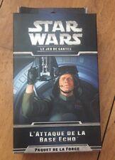 NEUF CARTES STAR WARS LCG EXTENSION @ PAQUET FORCE @ ATTAQUE DE LA BASE ECHO !!
