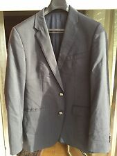HUGO BOSS Jacket  Chaqueta T-48 Uk-38 wool Lana Negra