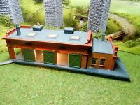 Arnold Güterhalle mit beweglichen Schiebetoren BELEUCHTET Spur N C127