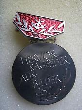 East German Ausbilder Medal Silver Award