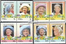 Tuvalu-Funafuti 57-64 Koppels (compleet.Kwestie.) postfris MNH 1985 Queen Mother