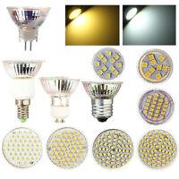 GU10/ E14/ E27/MR16 3W/4W/5W/6W SMD LED Spot Light Bulb Pure/Warm White AC 220V