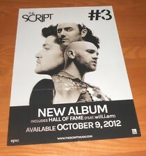 The Script #3 2-Sided Flat Promo 2012 Poster 12x18