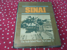 SPI Sinai The Arab-Israeli Wars: 56, 67, And 73 Simulation War Game Punched Copy
