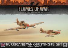 Desert Rats Hurricane Flight (x2) Battlefront Miniatures