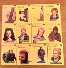 Dune 1987 Vintage Fleer Stickers Complete Set of 44