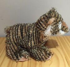 """Webkinz Ganz Tiger Cat No Code Soft 9"""" Super Cute"""