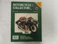 Vintage Motorcycle Collector Magazine, February 1993