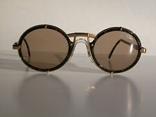 Cazal Vintage Eyeglasses - NOS-Model 644 -Col.637 -Gold & Dark Marble Brown