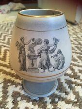 More details for flora gouda holland romana 1845 porcelain pedestal vase