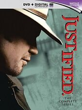 Justified the complete Season Series 1, 2, 3, 4, 5 & 6 DVD box set 1 - 6 New R2