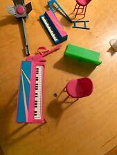 vintage barbie key boards 1986 1976 & More Light Guitar K1