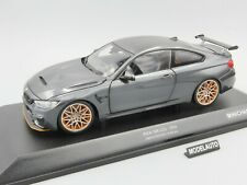 Minichamps 1:18  BMW M4 GTS  2016  GREY METALLIC