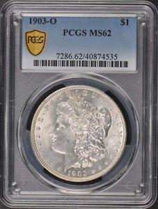 1903-O $1 Morgan Dollar PCGS MS62