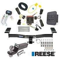 """Reese Trailer Tow Hitch For 11-14 Ford Edge Except Sport Wiring 2"""" Ball & Lock"""