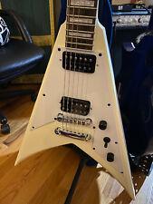 JACKSON Electric Guitar SCOTT IAN KVXT King V Ivory Rosewood Fingerboard