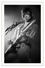 KEITH RICHARDS SIGNED PHOTO PRINT AUTOGRAPH THE ROLLING STONES