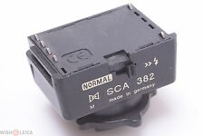 MECABLITZ METZ SCA 382 M FLASH ADAPTER CONTAX RF, SLR G1, G2, YASHICA