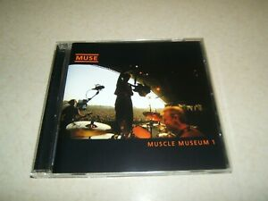 MUSE : MUSCLE MUSEUM 1  CD SINGLE 4 TRACKS   2000