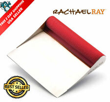 ORIGINAL Rachael Ray Bench Scrape Food Chopper Dough Scraper Cooking Utensil,Red