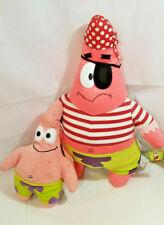 "2003 NANCO SpongeBob Squarepants Pirate Patrick Plush 26""+ STARFISH Toy BACKPACK"