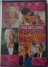 NEW THE SECOND BEST EXOTIC MARIGOLD HOTEL DVD 1 DISC FREE WORLDWIDE SHIPPING