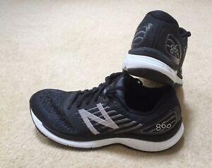 New Balance Black 860 V.9 Size UK9 Run 4 Miles!