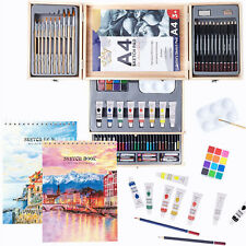 Professional Drawing Art Set Painting Artist Draw Paint Supplies Kit 85-Pieces