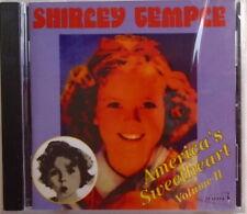SHIRLEY TEMPLE - CD - America's Sweetheart - Volume II - BRAND NEW
