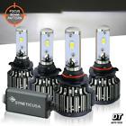 9005+9006 LED Combo Headlight Kit CREE CSP 240W Light Bulbs High & Low Beam