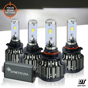 9005+9006 LED Combo Headlight Kit CREE CSP 240W Light Bulbs High & Low Beam