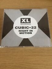Cubic 22 – Night In Motion CD Single 4 Tracks 1991 XL Recordings