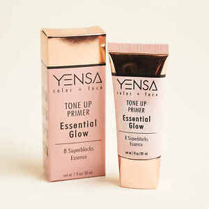 YENSA BEAUTY Tone Up Essential Glow Primer 1oz/30ml Full Size New In Box