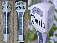 Sierra Nevada Ovila Abbey Ales Quad-3 Side White Wood Beer Tap Handle
