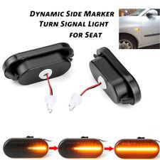 Led Dynamic Side Marker Turn Signal Light For SEAT Leon Ibiza 6L Cordoba Toledo