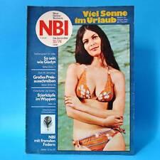 NBI 31/1974 DDR Federball Euphrat-Staudamm Gladys Marin Grevesmühlen Parchim
