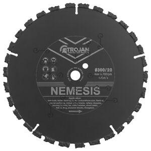 Trojan 300mm / 12in Nemesis Ripper Multi purpose Carbide Blade disc