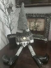 """New HALLOWEEN GNOME Boo Tabletop Home Decor Doll 25"""""""
