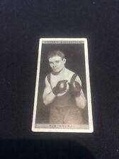 Kid Socks 41 1928 Ogdens Boxing Cigarette card Boxer Pugilists in action