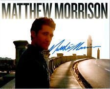 MATTHEW MORRISON Signed Autographed GLEE 8X10 Photo G