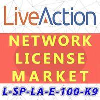 L-SP-LA-E-100-K9 LiveAction Enterprise Perpetual License, 100 Managed Devices