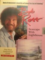 BOB ROSS, DVD Titled, SEASCAPE , WITH LIGHTHOUSE, BEST OF THE BEST OF Bob Ross